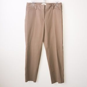 Talbots petite curvy trouser/chino pants